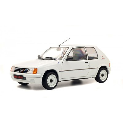 Solido 1:18 Peugeot 205 Rally wit 1987