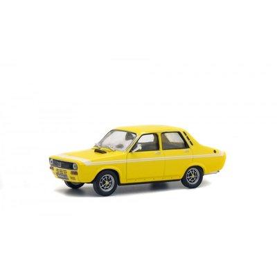 Solido 1:43 Renault R12 Gordini 1970 geel