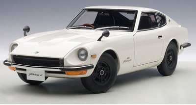 Autoart 1:18 Nissan Fairlady Z432 1969 wit