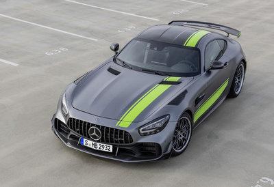 GT Spirit 1:18 MERCEDES AMG GT-R PRO 2019 Designo magno selenite grey