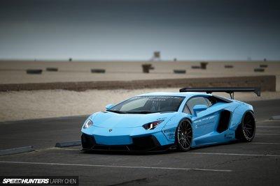 GT Spirit 1:12 LB-WORKS AVENTADOR Baby blue