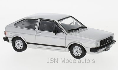 Whitebox 1:43 Volkswagen Gol BX 1984 zilver