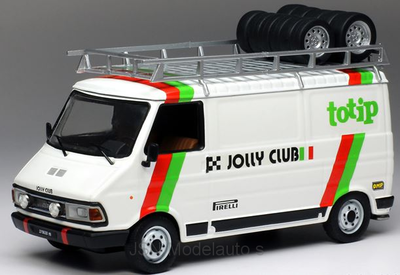 IXO 1:43 Fiat 242 Assistance Totip Jolly Club 1985