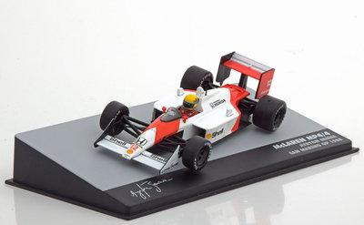 Atlas 1:43 McLaren Honda MP4/4 Ayrton Senna GP San Mariono 1988