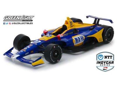 Greenlight 1:18 Honda Alexander Rossi no 27 Andretti Autosport Napa Auto Parts Indycar Series