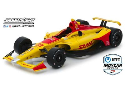Greenlight 1:18 Honda Nyan Hunter-Reay no 28 Anretti Autosport met DHL decals Indycar Series