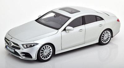Norev 1:18 Mercedes CLS Class 2018 zilver