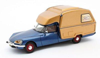Matrix 1:43 Citroen ID Camper blue gold 1973