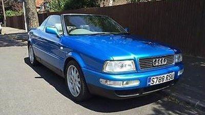 Otto Mobile 1:18 Audi 80 Cabriolet King Fisher blue, lim. 999 stuks