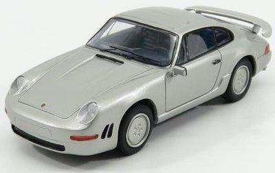 Kess 1:43 Porsche 911 Carrera 3.2 E19 Concept zilver metallic 1984