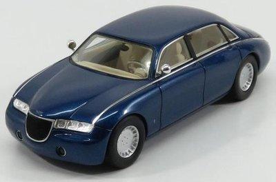 Kess 1:43 Aston Martin Lagonda Vignale blauw metallic 1993