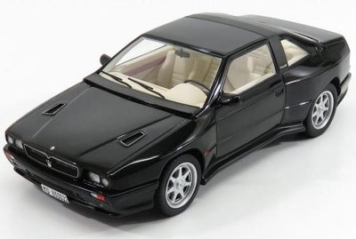 Kess 1:18 Maserati Shamal zwart metallic 1989, lim. 75 pcs