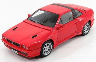 Kess 1:18 Maserati Shamal rood 1989, lim. 150 pcs
