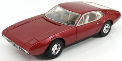 Kess 1:43 De Tomaso Zonda red metallic 1971