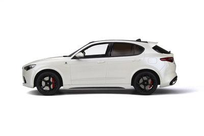 Otto Mobile 1:18 Alfa Romeo Stelvio Quadrifoglio White, oplage 1500 stuks