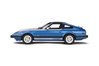 Otto Mobile 1:18 Datsun 280 ZX Turbo Cadet Blue Met / Fox Silver, oplage 1500 stuks