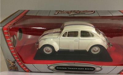 Yatming 1:18 Volkswagen Beetle wit met Herbie design