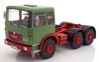 Road Kings 1:18 MAN 16304 F7 1972 groen rood, oplage 750 stuks