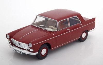 WhiteBox 1:24 Peugeot 404 rood