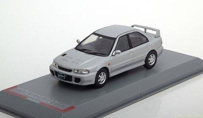 Whitebox 1:43 Mitsubishi Lancer Evo 1 1992 zilver