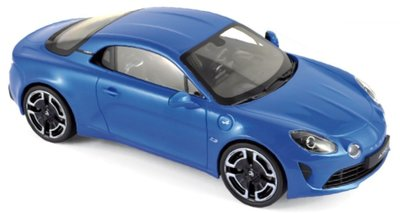 Norev 1:18 Alpine A110 Légende 2018 - Alpine Blue