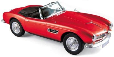 Norev 1:18 BMW 507 Cabriolet 1956 - Red
