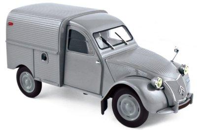 Norev 1:18 Citroën 2CV Fourgonnette 1957 - Grey, Limited Quantity. Levering 12/2019. Te reserveren