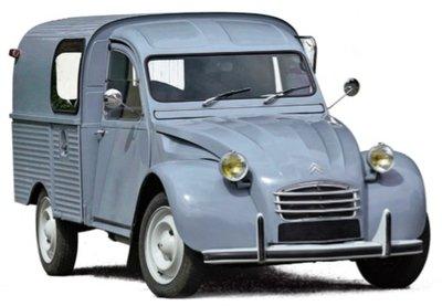 Norev 1:18 Citroën 2CV Fourgonnette AK350 1966 - Névé Blue