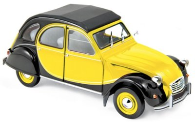 Norev 1:18 Citroën 2CV Charleston 1982 - Helios Yellow & Black