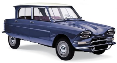 Norev 1:18 Citroën Ami 6 1965 - Ardoise Blue