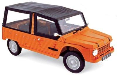 Norev 1:18 Citroën Méhari 1983 - Kirghiz Orange
