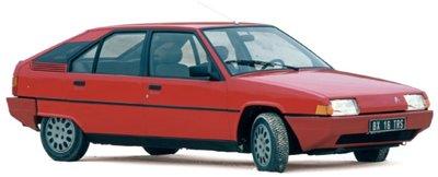 Norev 1:18 Citroen BX 16 TRS 1983 - Vallelunga Red