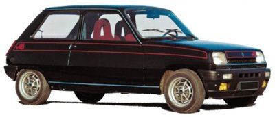Norev 1:18 Renault 5 Alpine 1976 - Black. Levering 12/2019. Te reserveren