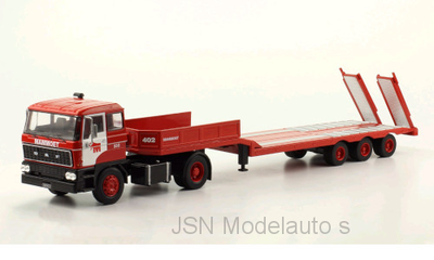 IXO 1:43 Daf 2800 Mammoet Low-Boy Trailer / dieplader