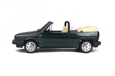 Otto Mobile 1:12 Volkswagen Golf Mk 1 Cabriolet Class Line green, oplage 999 pcs