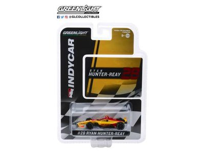 Greenlight 1:64 Honda no28 Ryan Hunter-Reay Andretti Autosport DHL Indycar series
