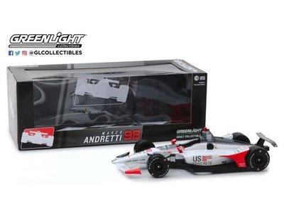 Greenlight 1:18 Honda no98 Marco Andretti 2019 Andretti Autosport, US Concrete Indycar Series