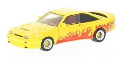 BOS 1:87 Opel Manta B Mattig geel rood 1991