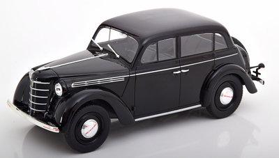 KK Scale 1:18 Opel Kadett K38 1938 zwart