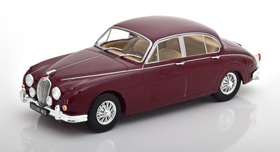 Whitebox 1:24 Jaguar MK 2  donkerrood