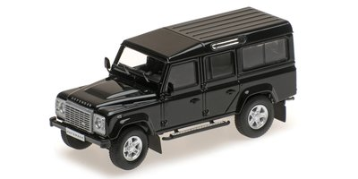 Almost Real 1:43 Land Rover Defender 110 zwart 2014