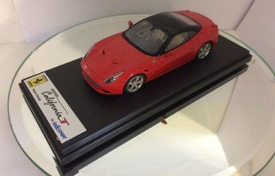 Looksmart 1:43 Ferrari California rosso scuderia / nero ds