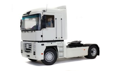Z Models 1:18 Renault Magnum Phase 2 Blanc, diecast metal