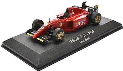 Atlas 1:43 Ferrari 412 no 27 Jean Alesi 1995