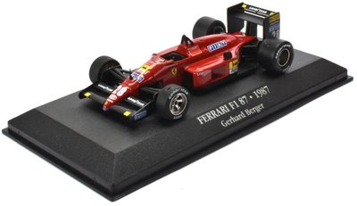Atlas 1:43 Ferrari F1 87 no 28 Gerhard Berger 1987