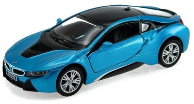 Motor Max 1:24 BMW i8 Coupe blauw