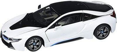 Motor Max 1:24 BMW i8 Coupe wit