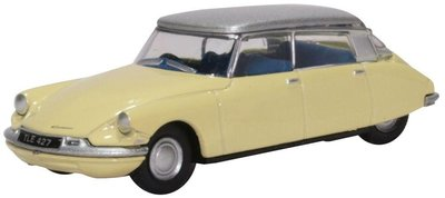 Oxford 1:76 Citroen DS19 Jonquil beige