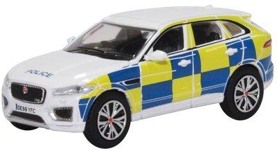 Oxford 1:76 Jaguar F Pace Police