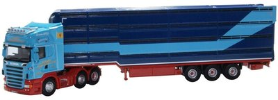 Oxford 1:76 Scania Houghton Parkhouse Professional Livestock Transporter George
